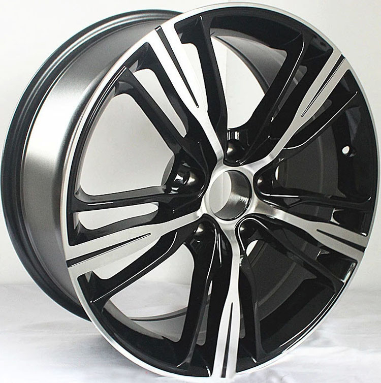 "Car Rims 17"" For BMW 228i / Gloss Black Machined 17 inch alloy rims"