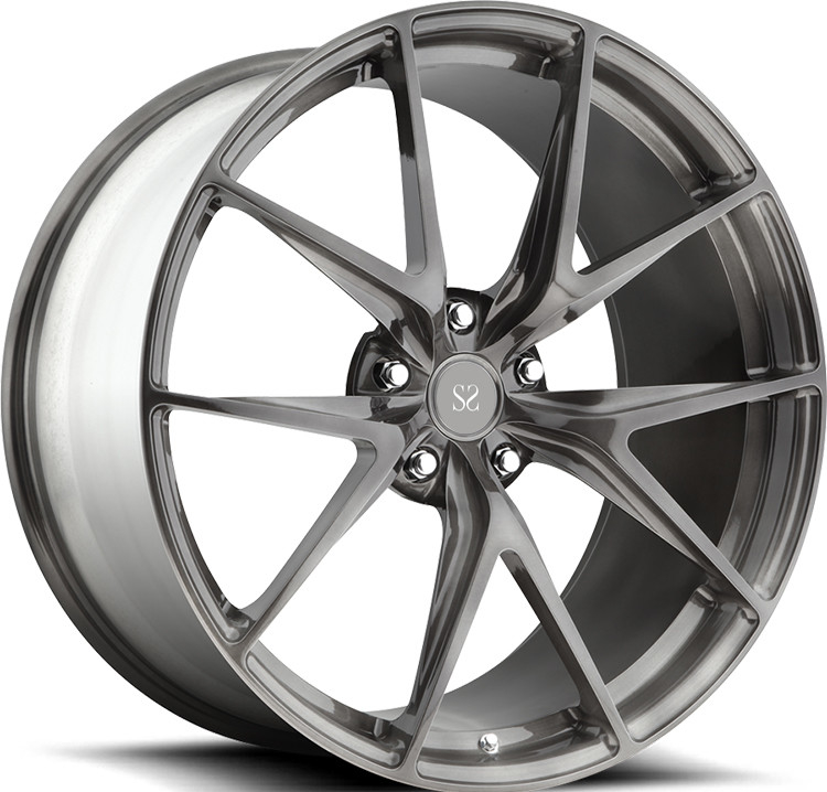 1-piece Forged Wheels 20 inch 1-PC Forged Alloy Rims For Mercedes-Benz AMG SLS / 22inch Rims Aluminum Alloy RIms