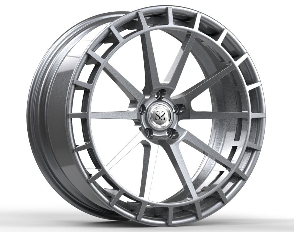 22 inch 20 inch A6061 T6 forged hand brushed wheels rims for audi rs7, q7