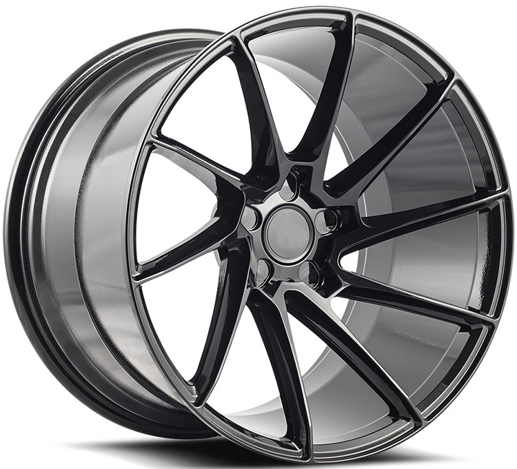 Custom Gloss Black 21 Inch 1- Piece Forged Wheels With PCD 5x130 For Porsche 911 Carrera  Made of 6061-T6 Aluminum Alloy