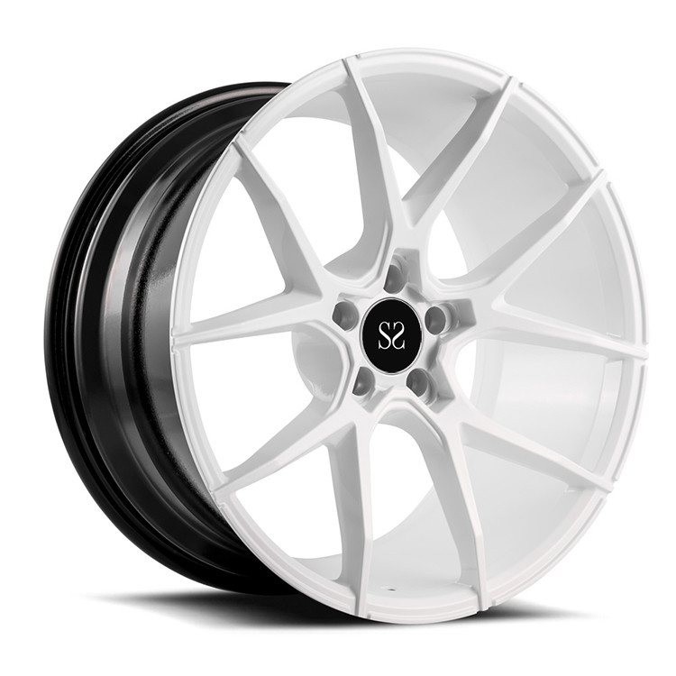 21 Inch Hyper Silver 1-Piece Forged Wheels With 5x130 Made of 6061-T6 Aluminum Alloy For Porsche 911