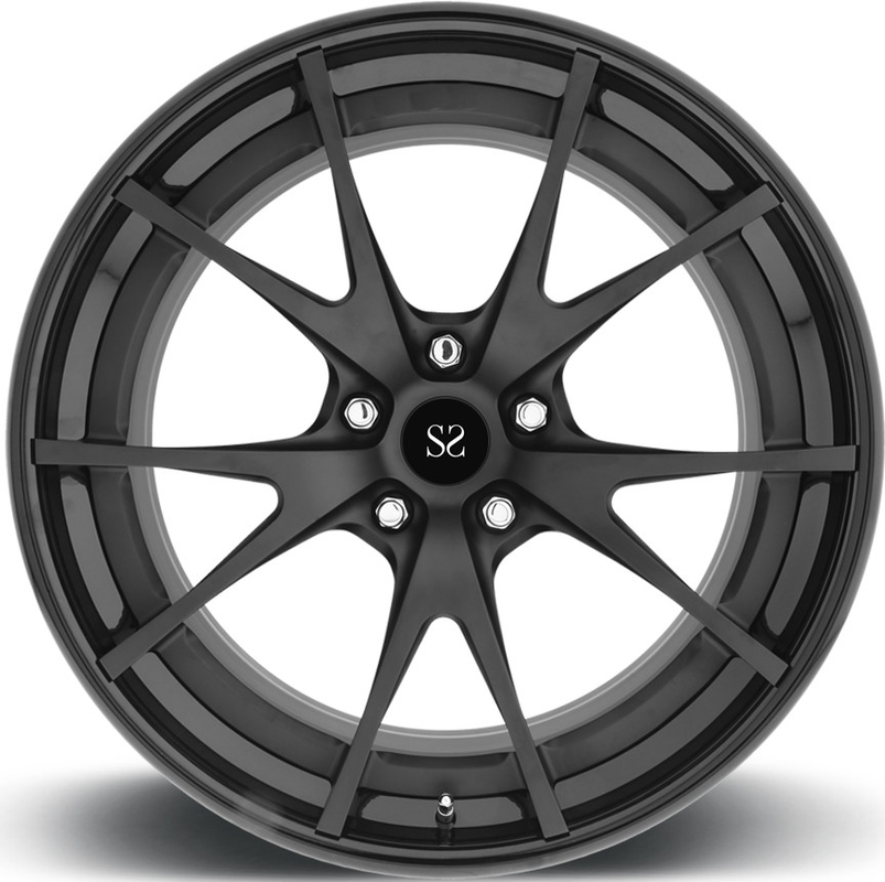 Lamborghini 24 23 22 21 20 98mm PCD 2 Piece Forged Wheels